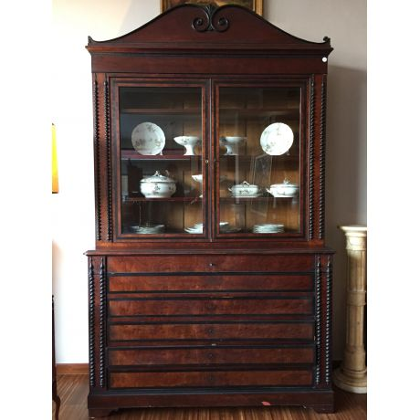 Bookcase in palissandro