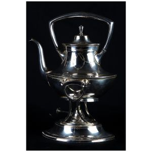 Samovar in Sheffield finemente inciso