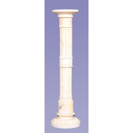 Colonna francese in marmo